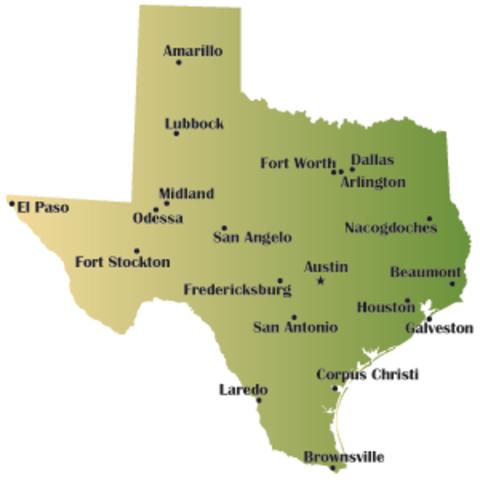Texas Refuses to Ratify Amendment 14