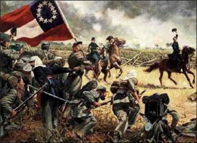 Confederate Troops Approach Washington, D.C