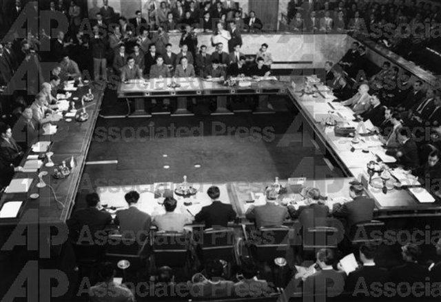 Geneva Conference Ends