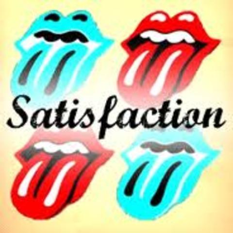 (I can't get no) Satisfaction par le Rolling Stones est sorti en Julliet, 1965.