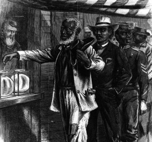 african americans get the right to vote.