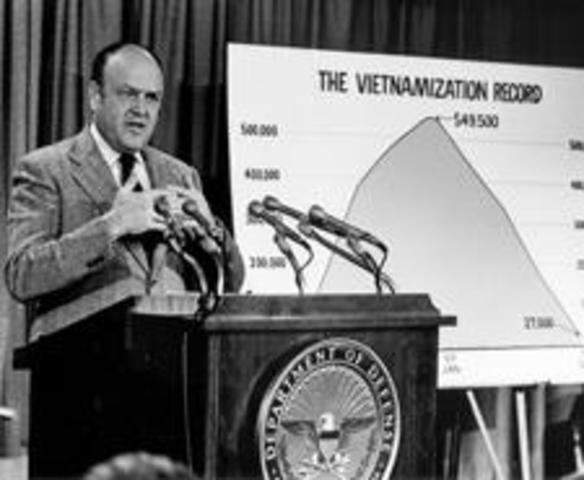 Vietnamization Policy Introduced