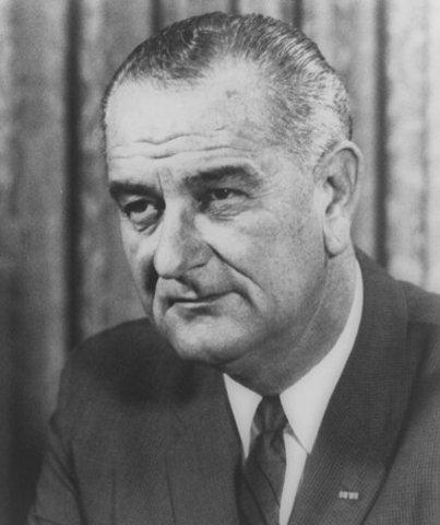 President Johnson Re-elected