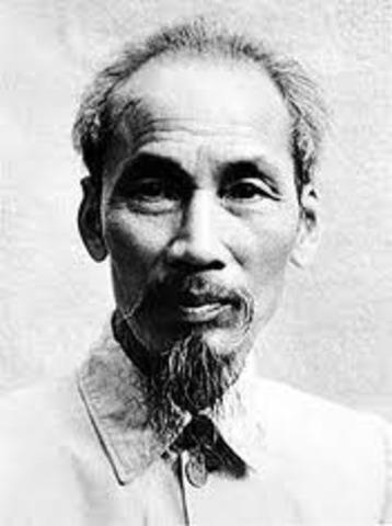 Ho Chi Minh declares an independent Vietnam