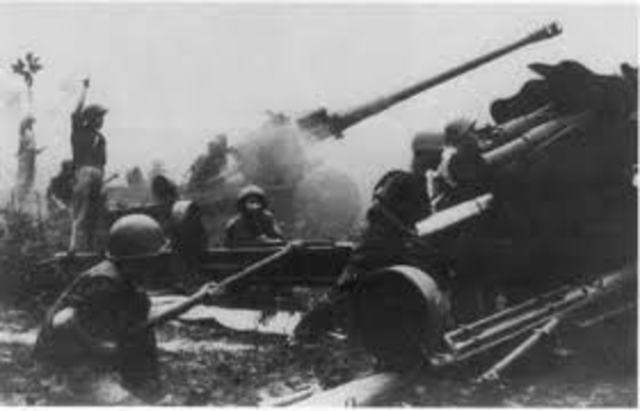 The Easter Offensive against South Vietnam begins