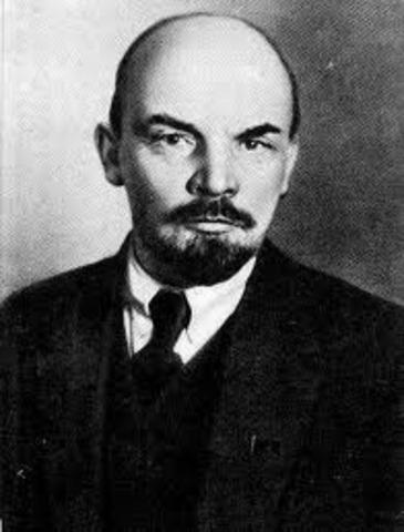 Lenin Takes Power