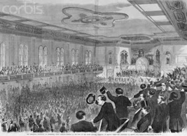 The Democrats reconvene in Baltimore