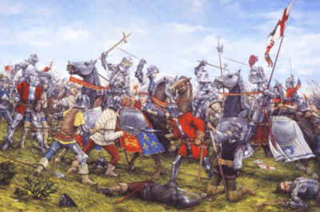 The Wars of the Roses begins in England