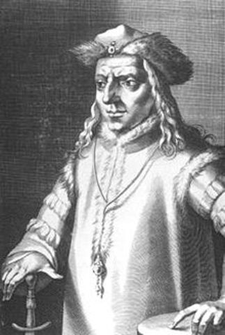 Rudolph the first was elected holy roman emperor.