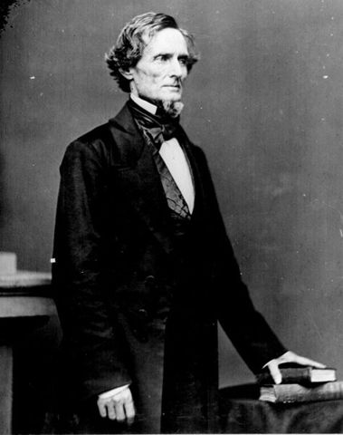 Jefferson Davis is elected president of the Confederate States