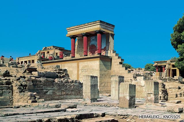 Palace of Knossos destruction