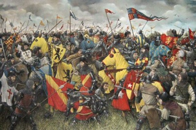 The Battle of Crecy