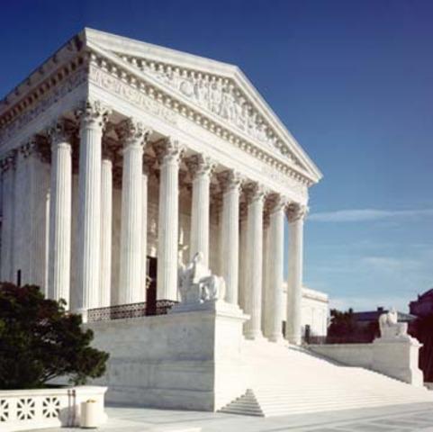 Supreme Court rules public school segregation unconstitutional