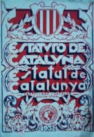 El Estatuto de Cataluña es aprobado