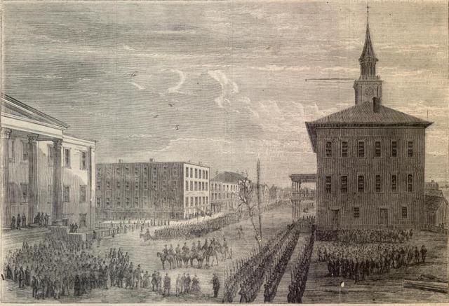 General Sherman Reached Savannah, GA
