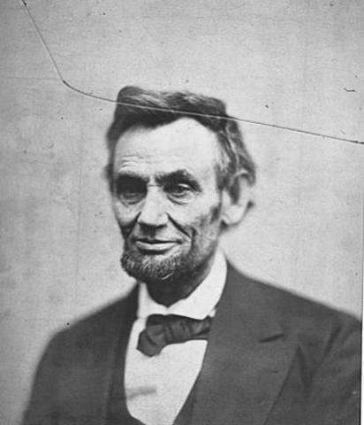 Last Weary Lincoln Portrait