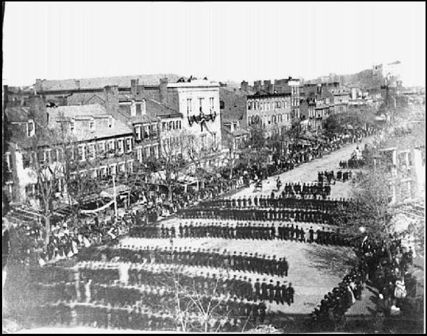 President Lincoln's Funeral Procession
