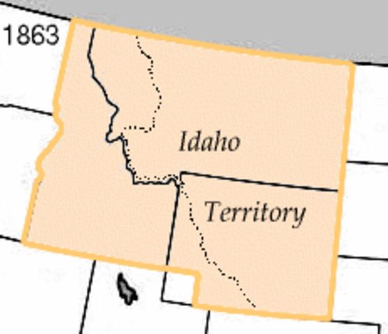 The Birth of the Idaho Territory