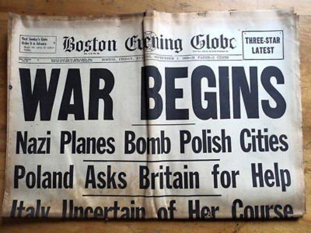 Declaration of War of Germany