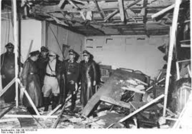 Assassination attempt on Hitler fails