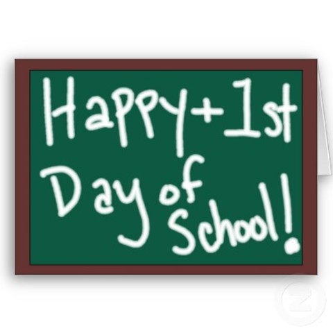 Primer dia y año de colegio