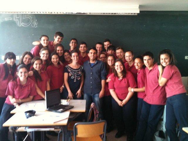 Etapa final en el Colegio Nazaret