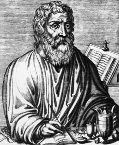 Hippocrates founds medicine