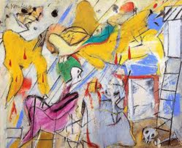 Abstract expressionism Art