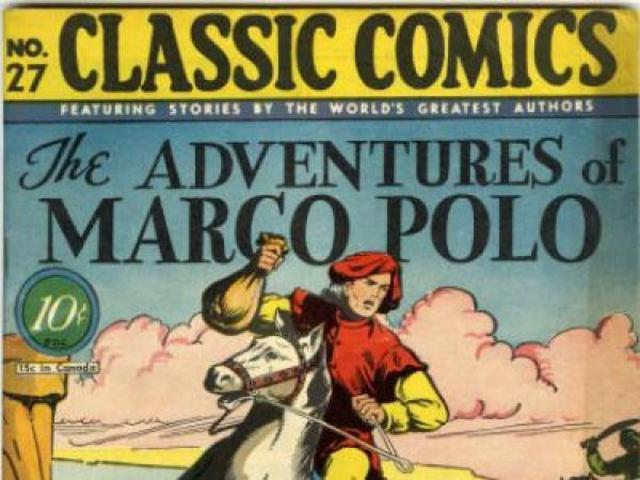 Marco Polo publishes his tales of China.