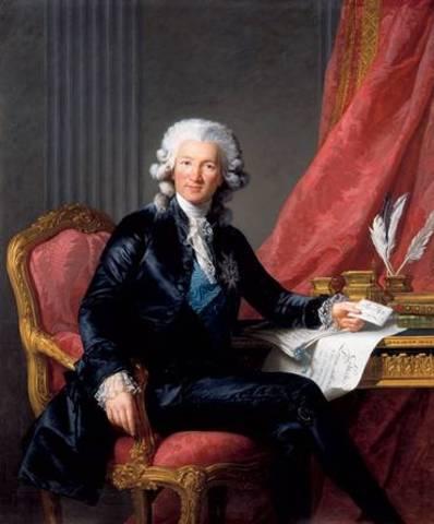 Charles Calonne 1783