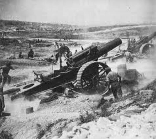 Las líneas alemanas son rotas cerca del Somme