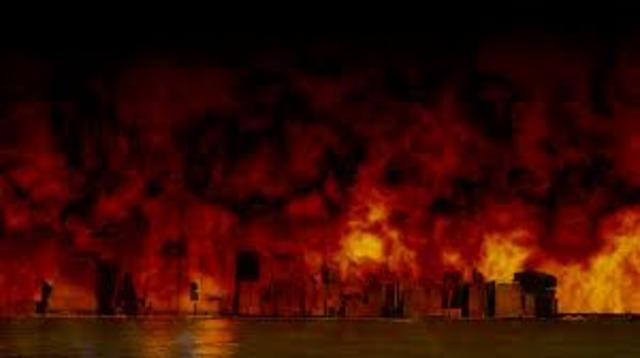 Burning of New York