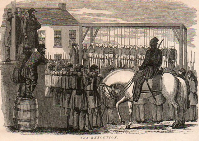 Lincoln's hanging of Indians