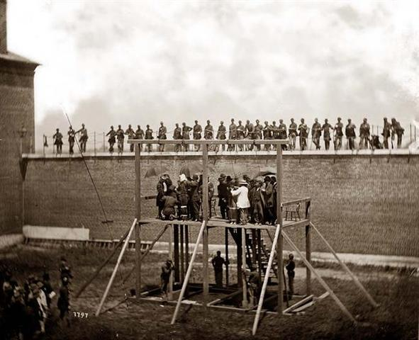 Lincoln's Conspirators are punished