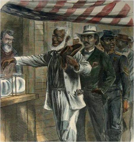 Black males can vote