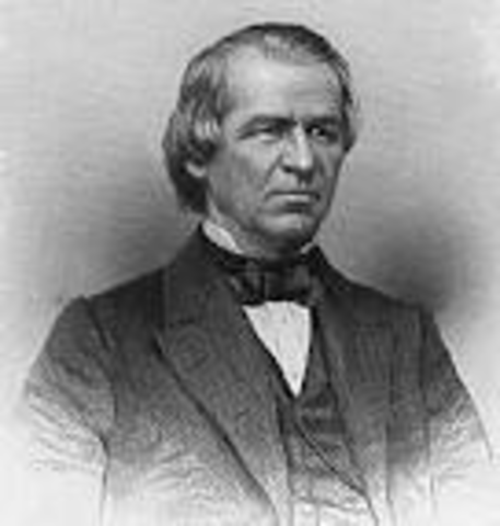 Andrew Johnson Inaugurated