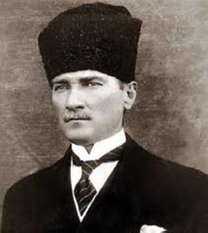 Ataturk dies