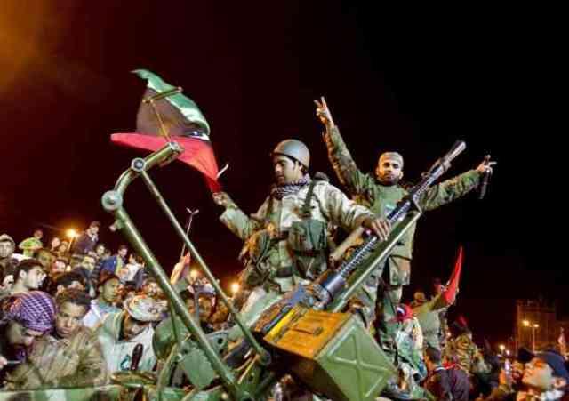 Rebelión Libia