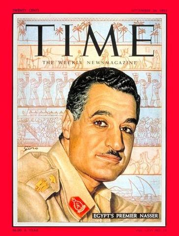 Gamel AbdelNasser nationalizes Suez Canal