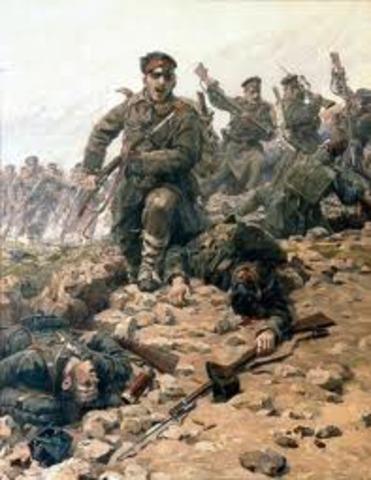 Las dos Guerras Balcánicas.