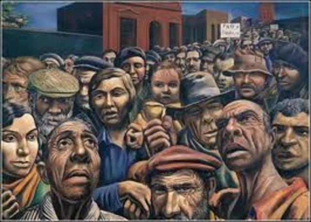 El movimiento socialista campesino se lanzó a una huelga