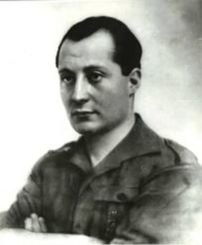 José Antonio Primo de Rivera fundó la Falange Española