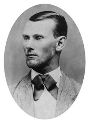 Jesse James and the Bank