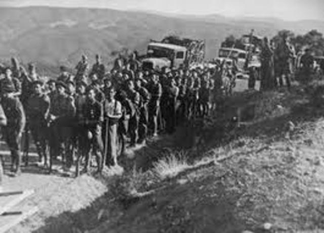El ejército de Marruecos iniciaba la rebelión