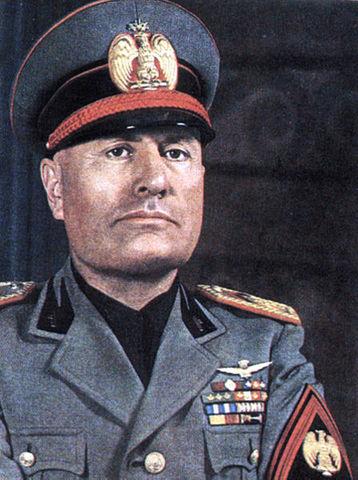 Ejecución de Mussolini