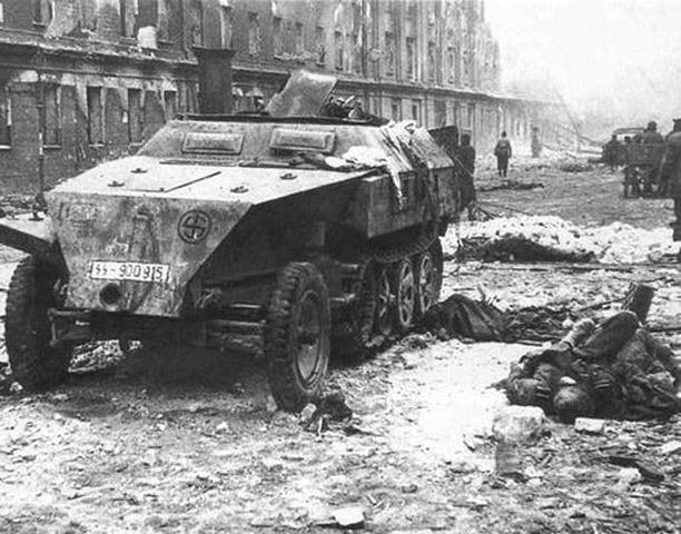 El fracaso de la ofenciva alemana