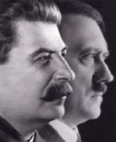 Pacto de no agresión entre Alemania y la URSS