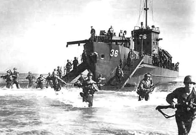 Desembarco de los Aliados en Sicilia