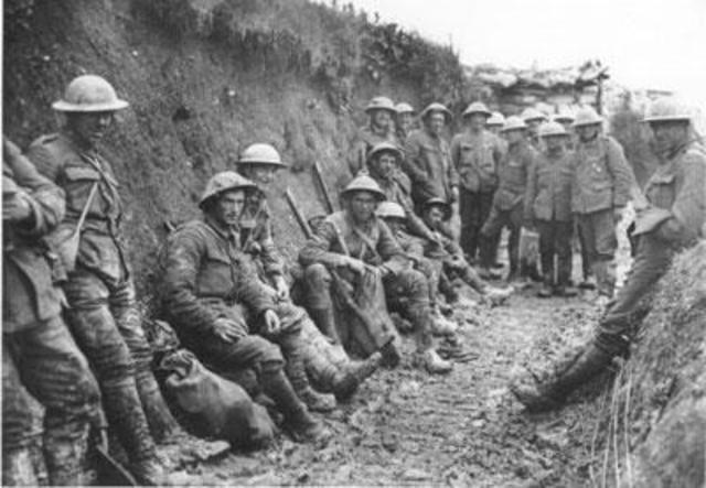 eerste wereld oorlog