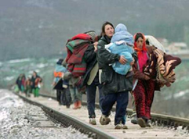 De asielzoekers